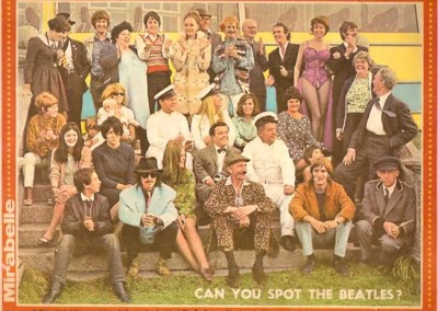 The Magical Mystery Tour group photo