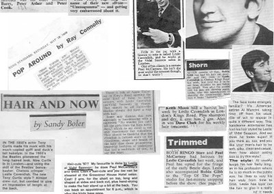 Beatles Hairdresser Press Cuttings 30