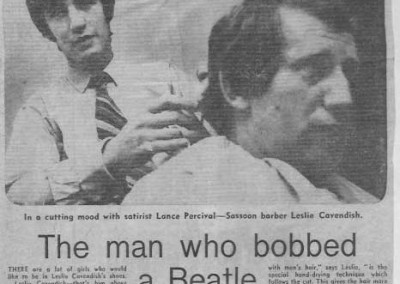 Beatles Hairdresser Press Cuttings 10