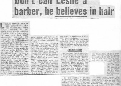 Beatles Hairdresser Press Cuttings 11