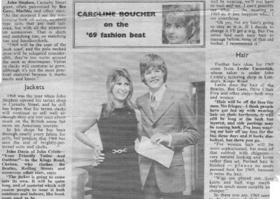 Beatles Hairdresser Press Cuttings 18