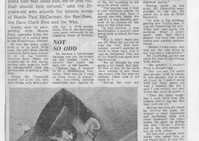 Beatles Hairdresser Press Cuttings 21