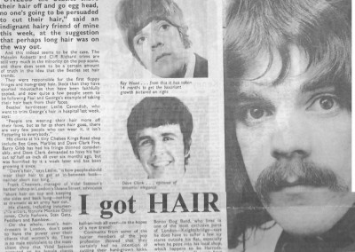 Beatles Hairdresser Press Cuttings 27