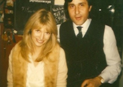 Ilie Nastase with Jane Birbeck