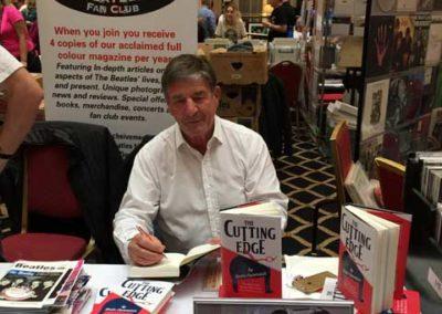 Signing books at International Beatles Week Adelphi Hotel