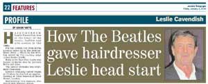 Leslie Cavendish interview Jewish Telegraph January 2018