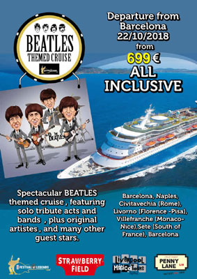 Beatles cruise with Leslie Cavendish October 2018