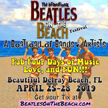 Leslie Cavendish at Beatles on the Beach 2019