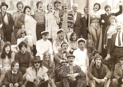 Group photo of the The Magical Mystery Tour