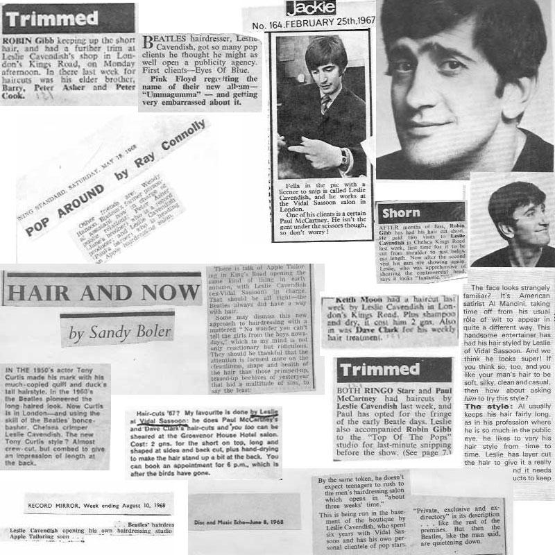 Beatles Hairdresser Press Cuttings 30
