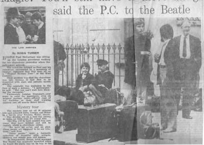 Beatles Hairdresser Press Cuttings 7