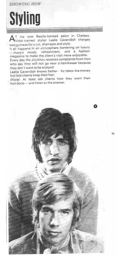 Beatles Hairdresser Press Cuttings 23