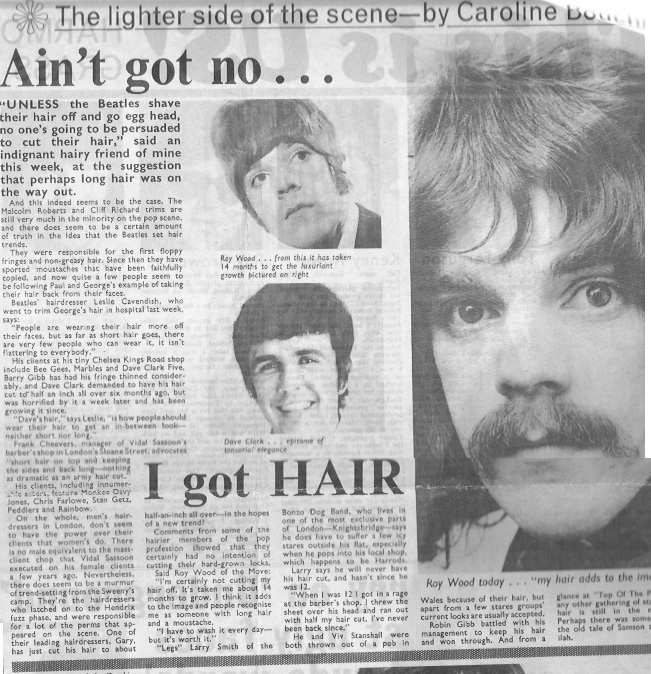 Beatles Hairdresser Press Cuttings 27