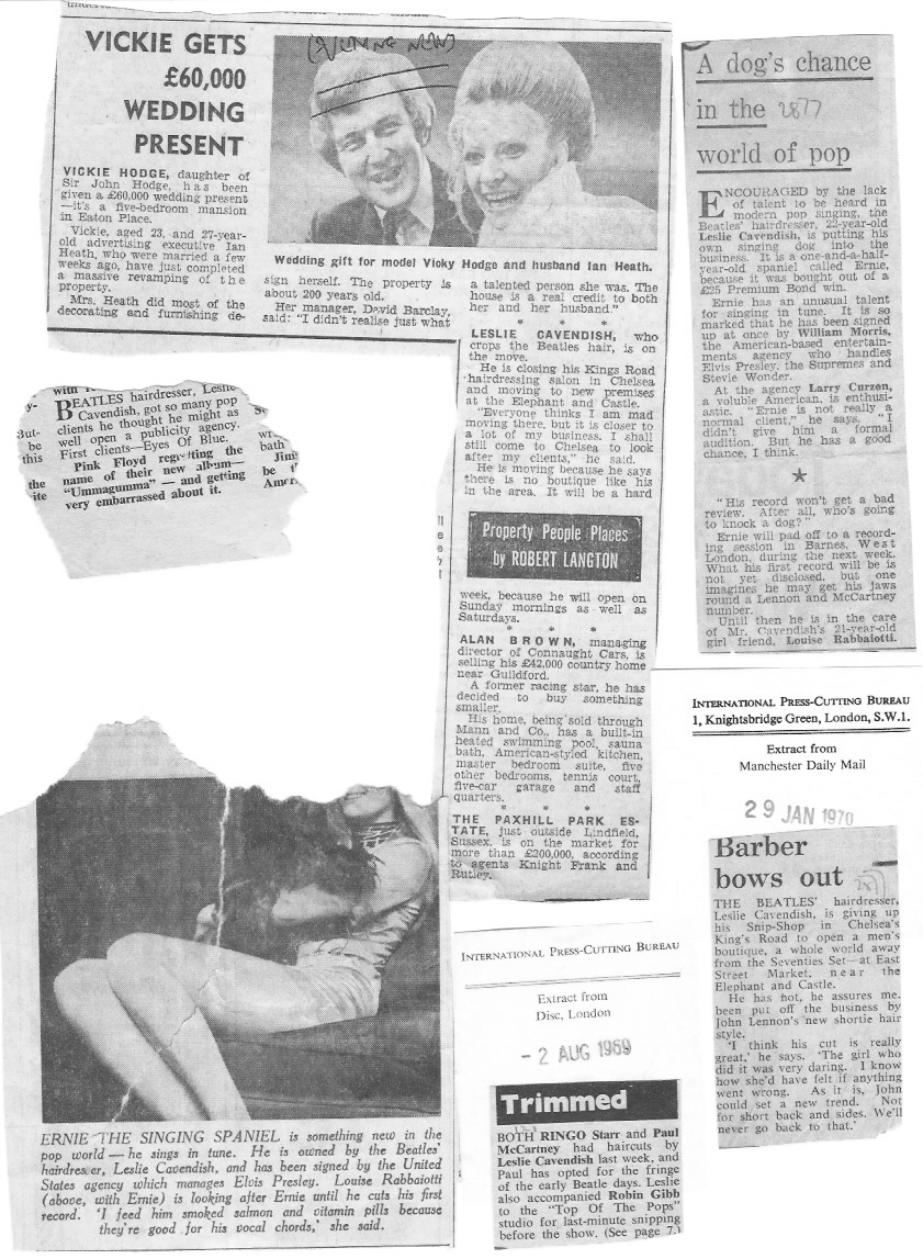 Beatles Hairdresser Press Cuttings 32