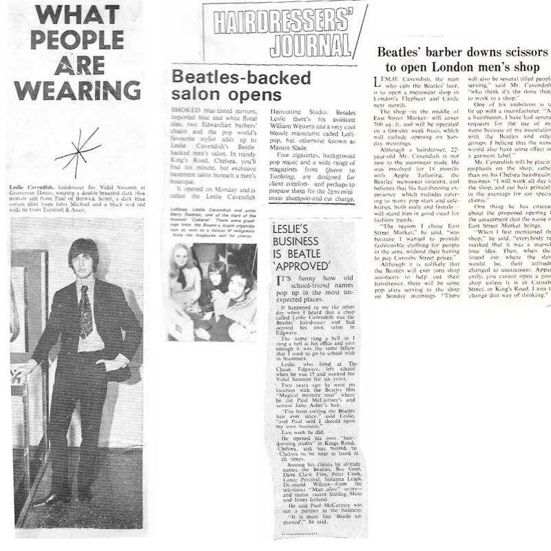 Beatles Hairdresser Press Cuttings 36