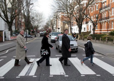 Beatles Tours London Abbey Road zebra crossing