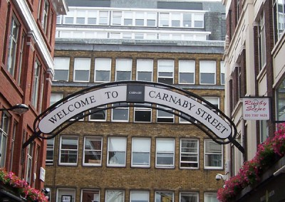 Beatles Tours London with the Beatles Hairdresser Carnaby Street
