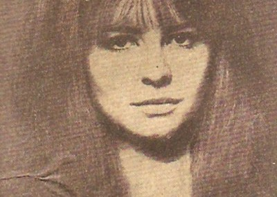 Leslie Cavendish on a photoshoot with Jane Asher for The Sunday Times