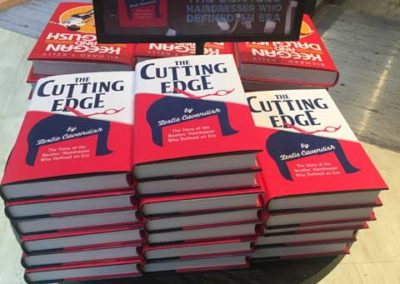 Books displayed at Waterstones Liverpool
