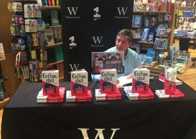 Signing books at Waterstones Liverpool