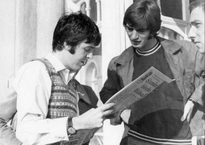Beatles Hairdresser with Paul McCartney