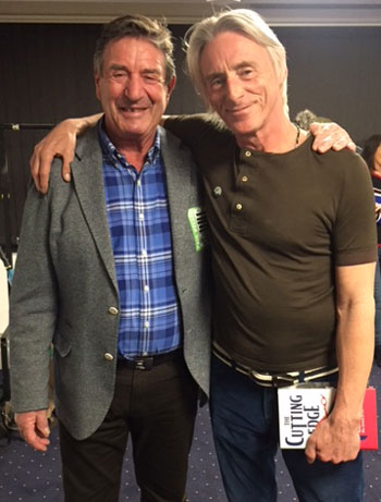Paul Weller and Leslie Cavendish