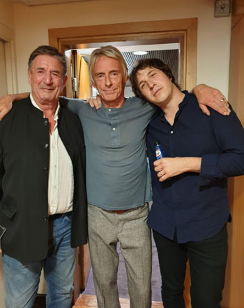 Paul Weller Leslie Cavendish and Andy Crofts