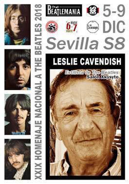 Beatles Haitdresser Leslie Cavendish Sevilla 2018
