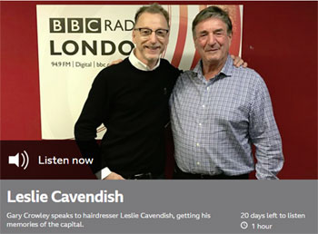 Leslie Cavendish BBC Radio London 20 January 2019