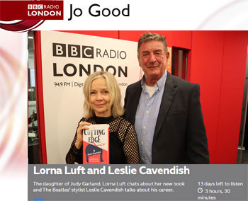 Leslie Cavendish on the Jo Good Show BBC