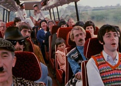 Leslie Cavendish on The Beatles Magical Mystery Tour coach