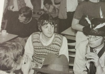 Leslie Cavendish with The Beatles on The Magical Mystery Tour