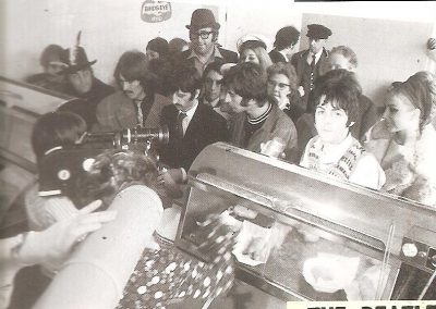 The Beatles Magical Mystery Tour Fish and Chip stop