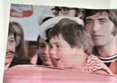 Little Nikki and Leslie Cavendish on The Magical Mystery Tour film